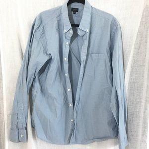 J Crew Slim Fit Casual Button Down Shirt Size XL
